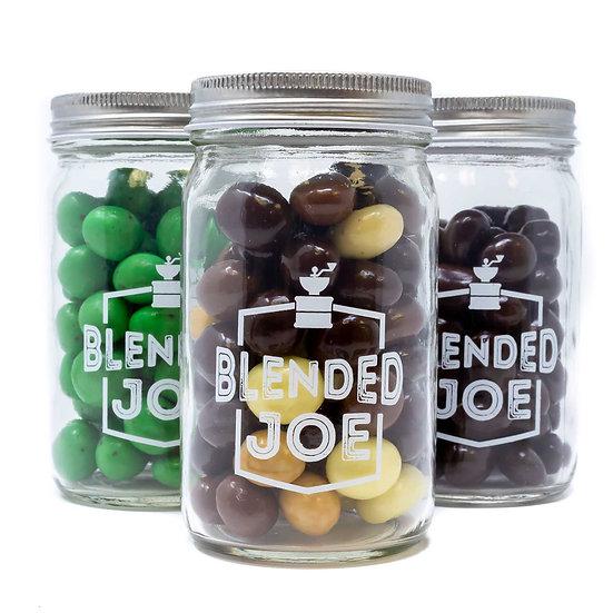 Chocolate Covered Espresso Beans Mini Jar