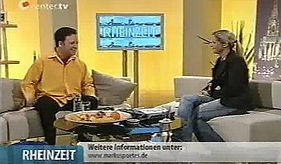 "Zauberer Markus Poétes live bei ""Center.tv"""