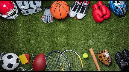 Sports Equipment on Field