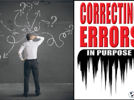 Correcting Errors in Purpose