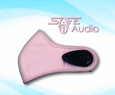 Pink Bluetooth Face Mask