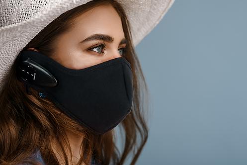 Black Bluetooth Face Mask