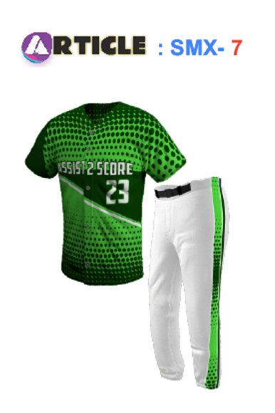 Baseball Jersey Article  SMX- Set 3
