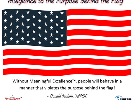 Allegiance to the Purpose Behind the Flag