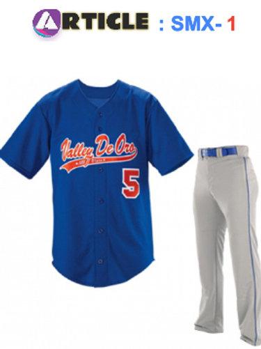 Baseball Jersey Article  SMX- Set 1