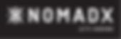NomadX Final LogowTagline_reverse CMYK F