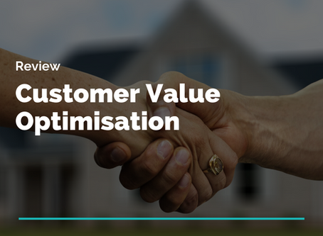 Review: Customer Value Optimisation. From unintentional to predicable.
