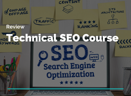 Review: CXL Course Technical SEO