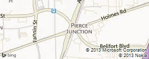 Pierce Junction Field Map