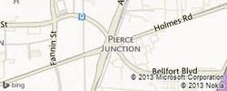 Pierce Junction Field Map