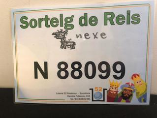 SORTEIG DE REIS (NEXE FUNDACIÓ)