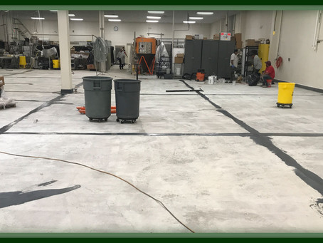 Commercial Kitchen Epoxy Flooring Project Completed For Rutgers University