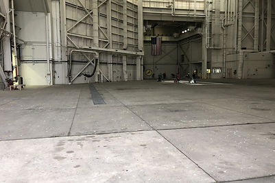 hangar epoxy flooring-3