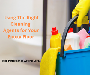 What to use to clean your epoxy floor