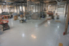 Industrial Flooring with Epoxy Coating