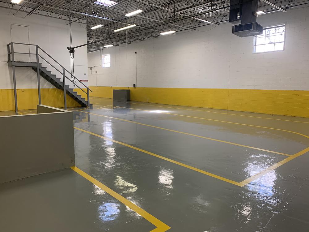 production epoxy floor