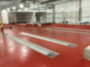 Epoxy Flooring for Food Production Plant