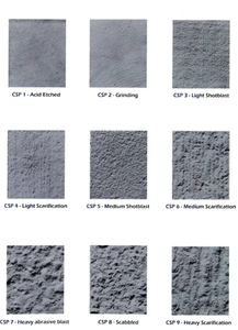 CSP Chart Concrete Repair