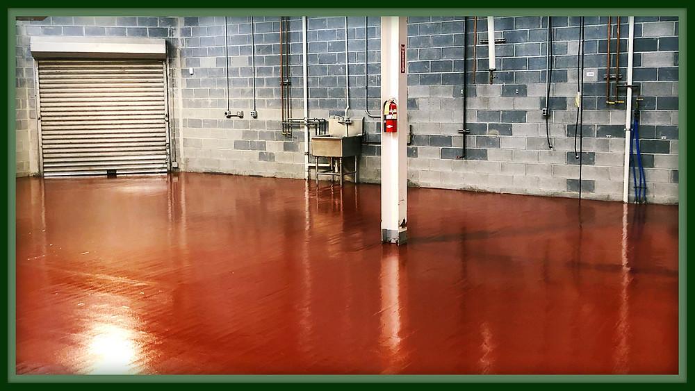 warehouse floor contractor