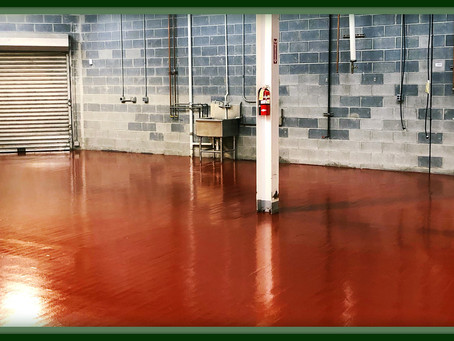 Top 5 Reasons Why Epoxy Floors Will Improve Your Workspace