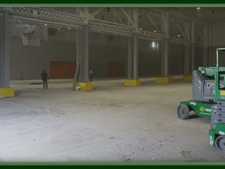 How Epoxy Floors Can Eliminate Your Warehouse Dust Problem