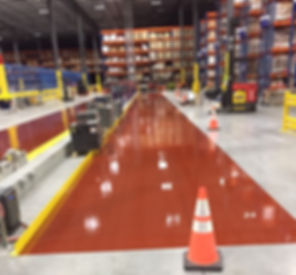 chemical resistant coating for flooring
