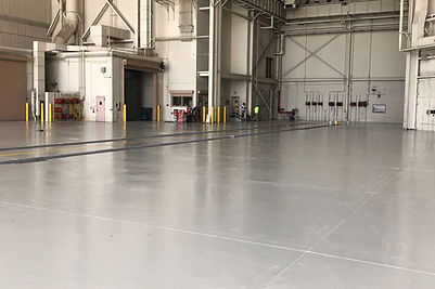 Hangar epoxy flooring 2