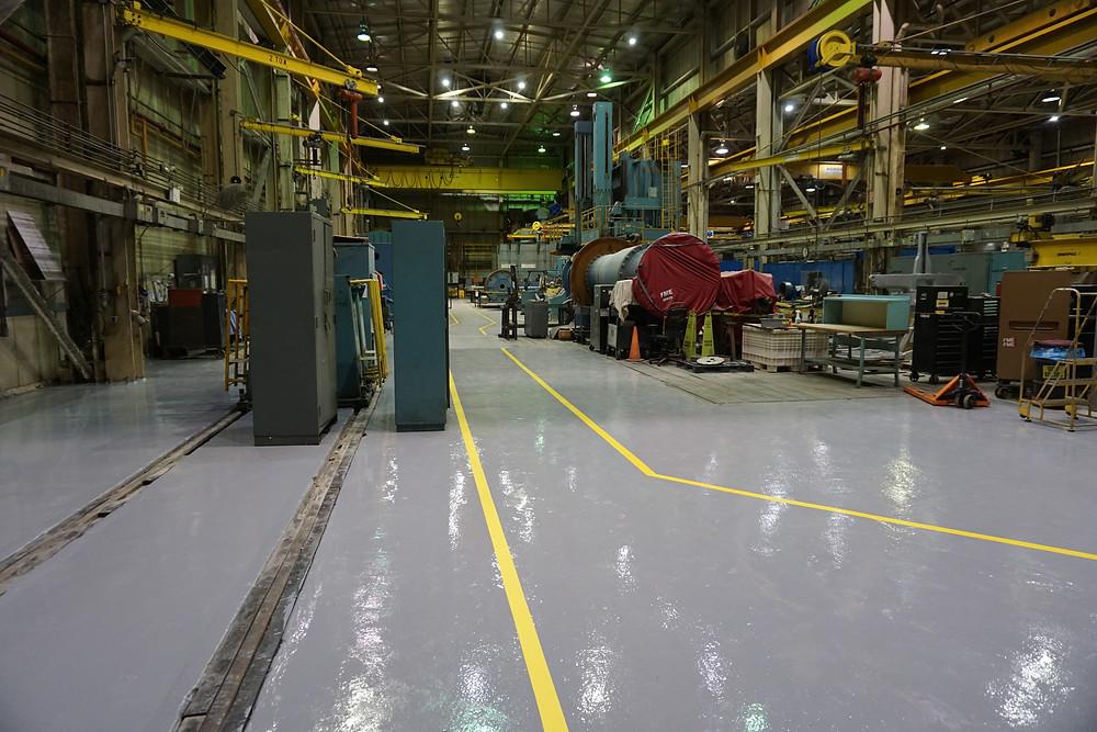 industrial epoxy floor