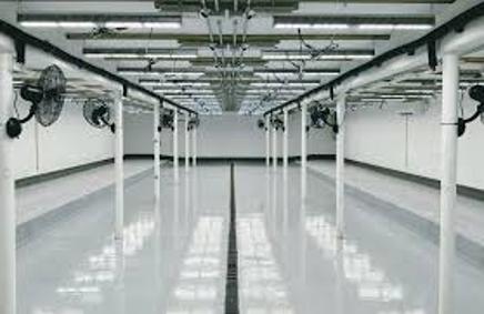 grow room epoxy flooring