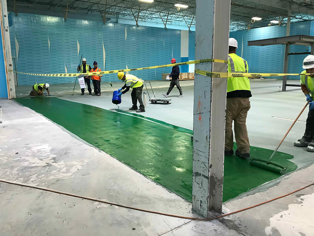 urethane cement contractors