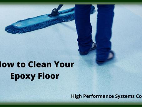 How to Clean Epoxy Floors