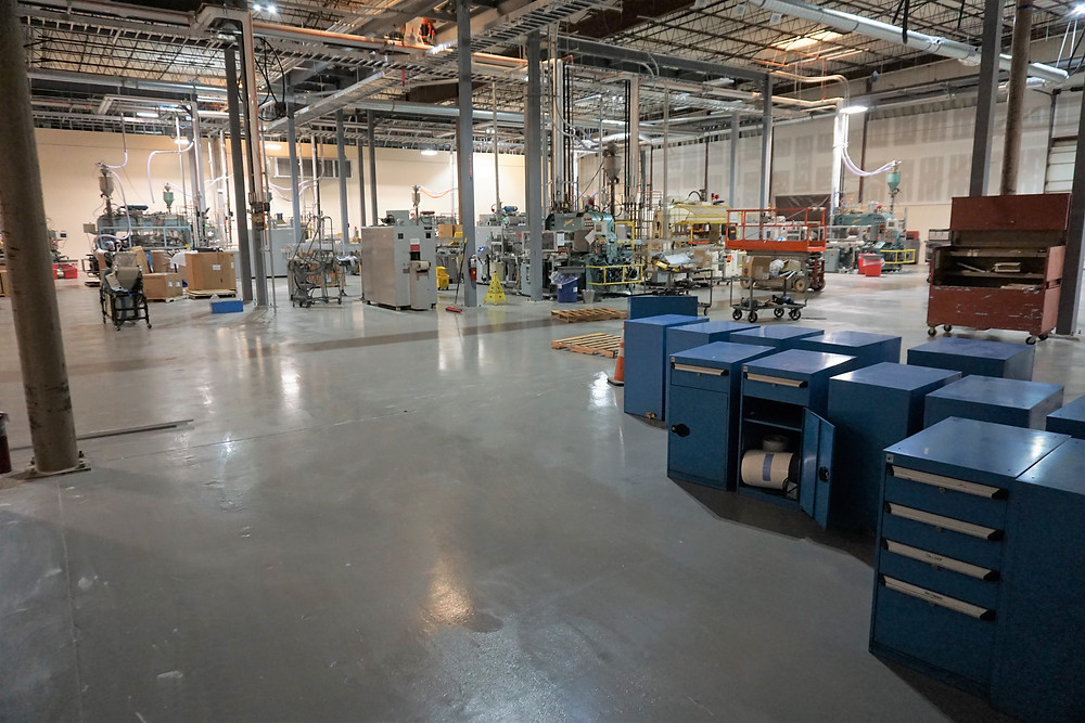 manufacturing facility epoxy floors
