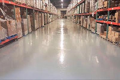 warehouse epoxy floor company video