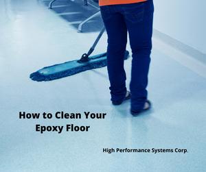 How to Clean Your Epoxy Floor