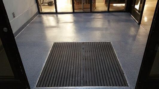 MMA Floor Installation