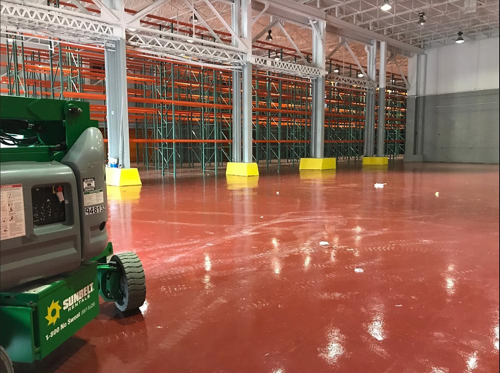 warehouse flooring options