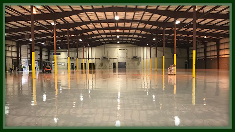 warehouse epoxy floors