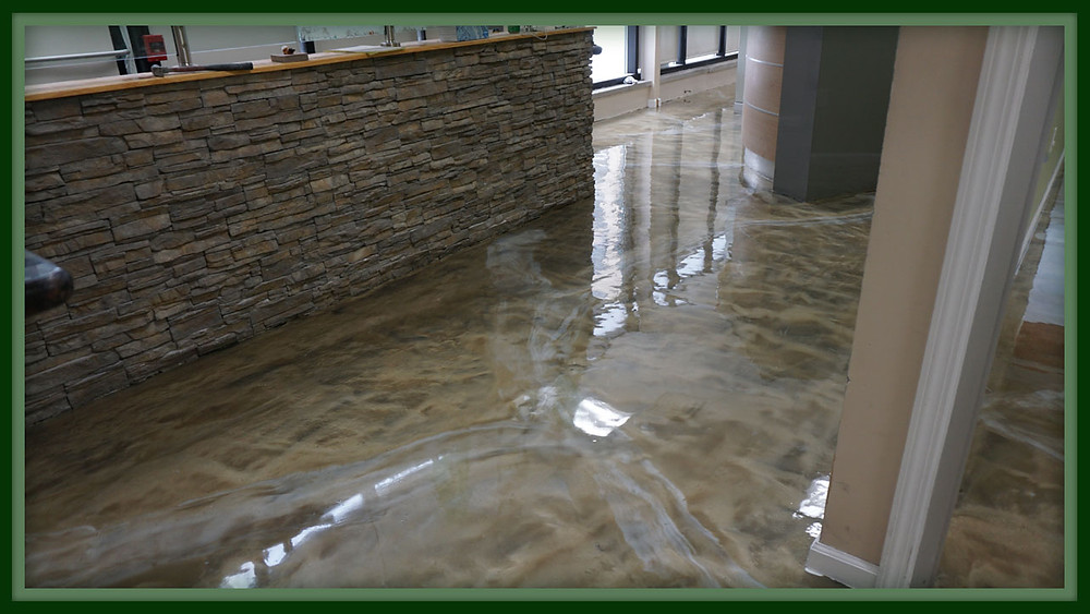 Metallic Epoxy Floor