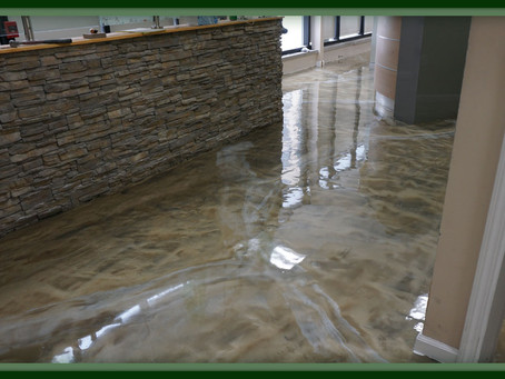 What Is Metallic Epoxy Flooring?