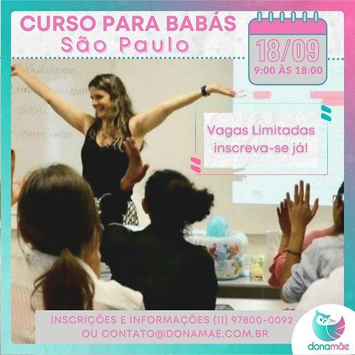 Curso para Pais e Babás - São Paulo