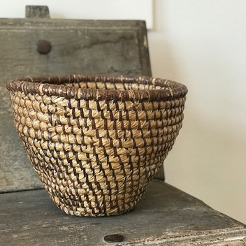 SOLD - Early American Rye Basket