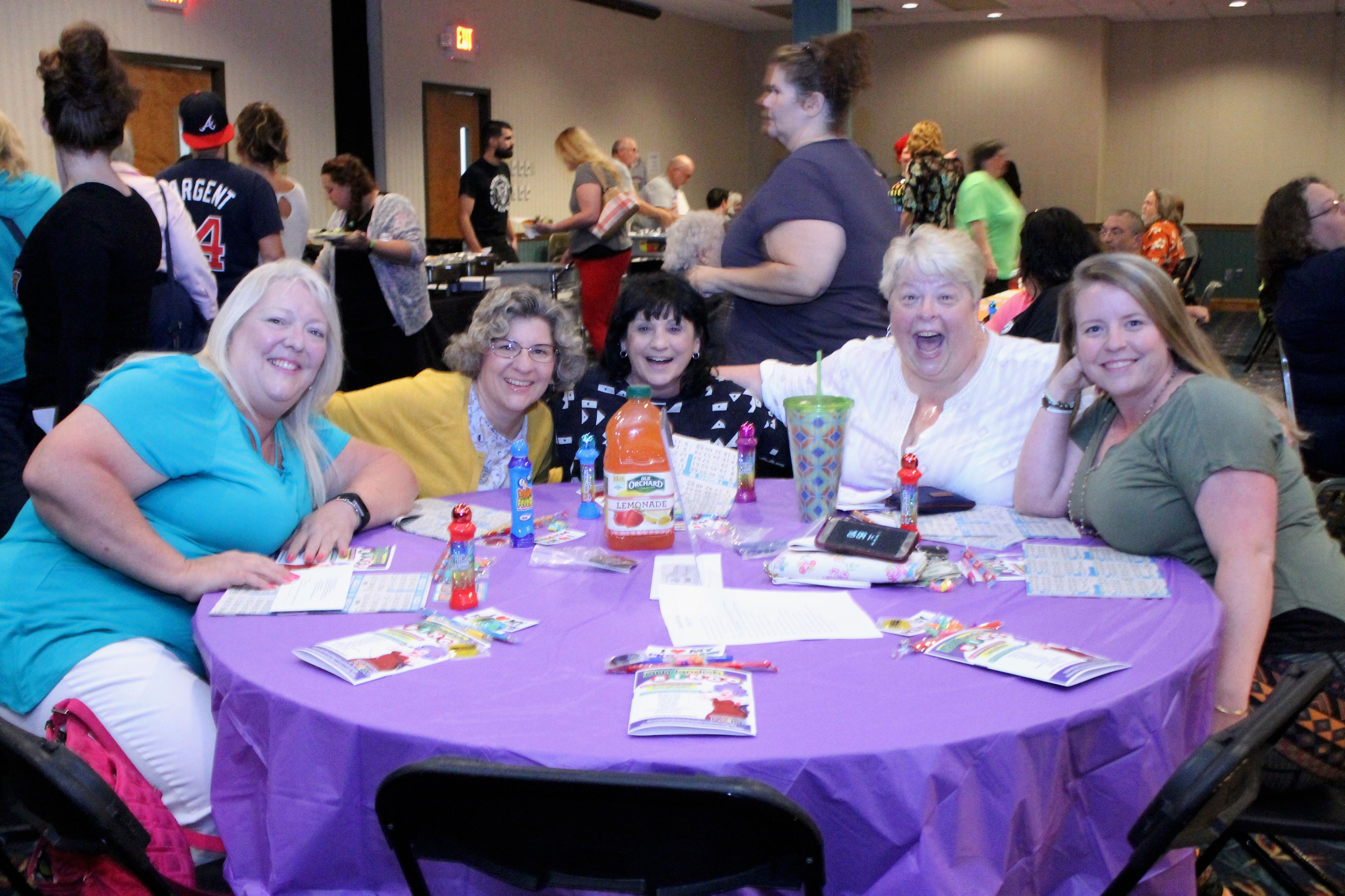 Bingo Ladies Having Fun