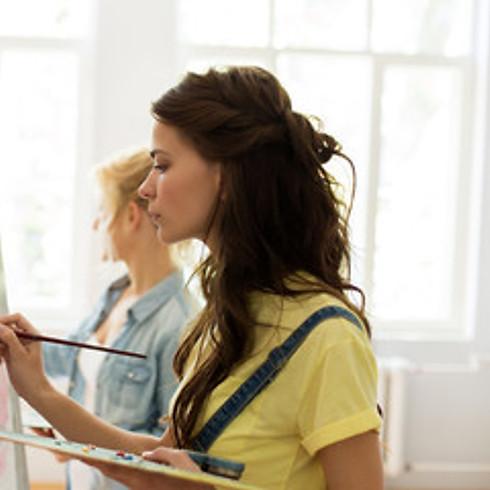 Tween/Teen Still Life Painting Workshop