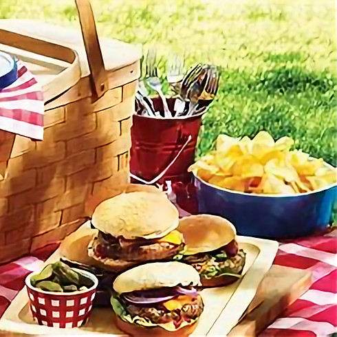 Caregiver & Child- Create & Pack a Picnic Ages 4 and up