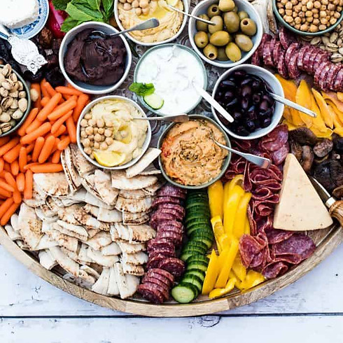 Kids Cooking: Charcuterie Appetizer Board Ages 4 to 10