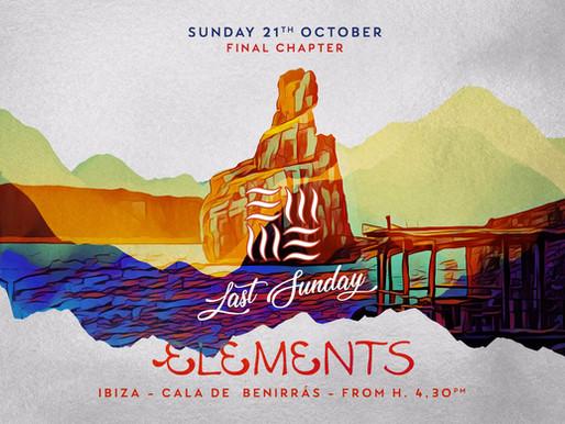 Elements Ibiza Beach Club - The Last Sunday of 2018