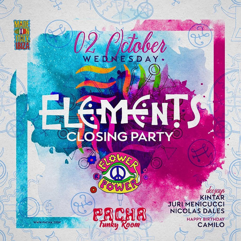 Elements at Pacha in The Funky Room