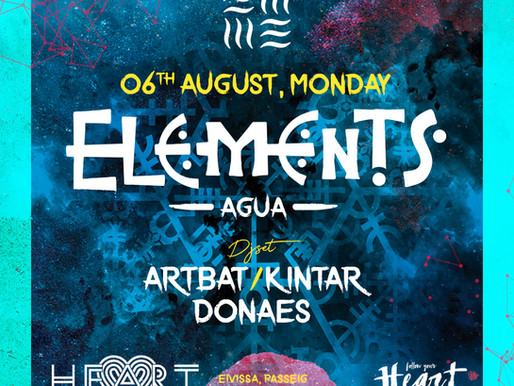 Elements @ Heart 6th August 2018 - Stand to be amazed.