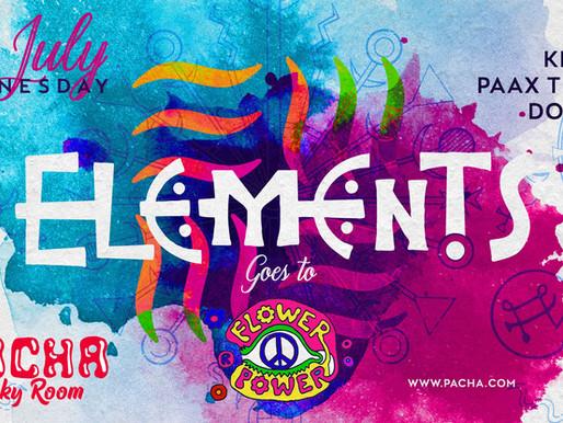 Elements at Pacha10 July 2019