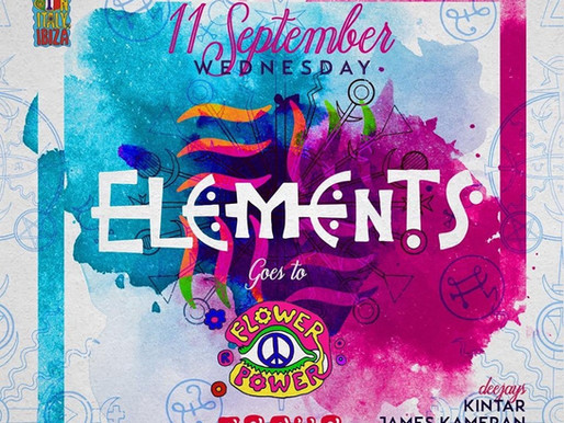 Elements at Pacha 11 September 2019